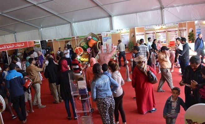 انطلاق فعاليات المعرض الوطني للمنتجات المحلية في ساحة الأمل بأكادير